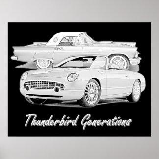 Thunderbirdgenerationer Posters
