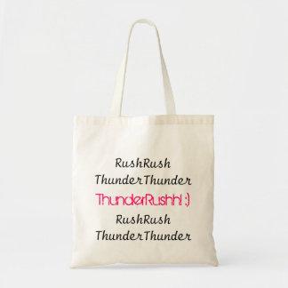 ThunderRush hänger lös Budget Tygkasse