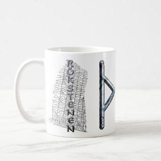 Thurisaz runamugg, thors symbol kaffemugg