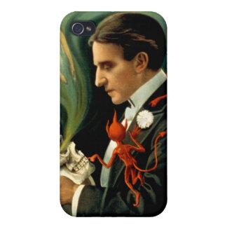 Thurston den underbara trollkarlen C. 1915 iPhone 4 Skal