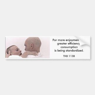 THX 1138 - Förbrukning 1 Bildekal