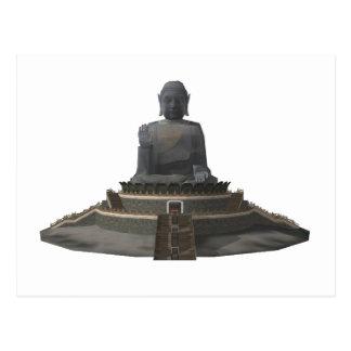 Tian solbrända Buddha: Stora Buddha: 3D Vykort
