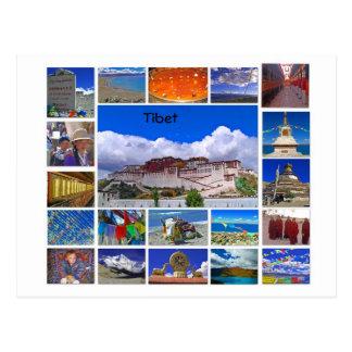 Tibet Multiview Vykort