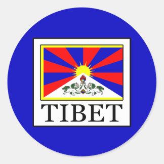 Tibet Runt Klistermärke