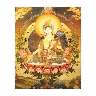 Tibetan buddistisk konst canvastryck
