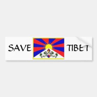 tibetan flagga, SPARA, TIBET Bildekal