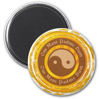 Tibetan Mantra Yin Yang Magneter