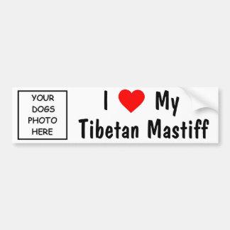 Tibetan Mastiff Bildekal