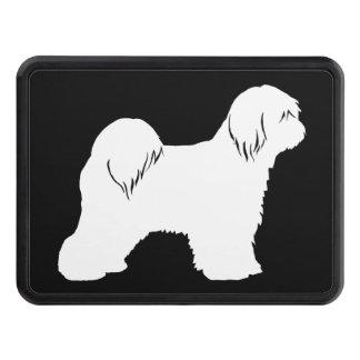 Tibetan TerrierSilhouette Dragkroksskydd