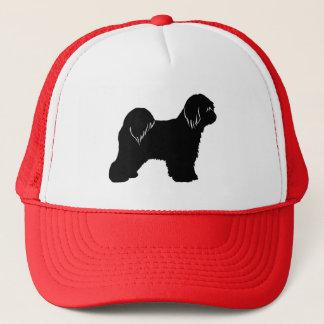 Tibetan TerrierSilhouette Keps