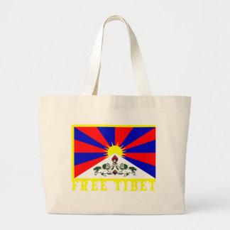 tibetflag jumbo tygkasse