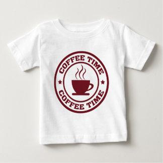 Tid för kaffe A251 cirklar burgundy Tshirts