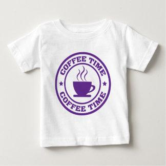 Tid för kaffe A251 cirklar lilor Tee Shirt