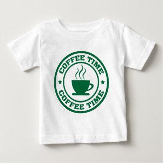 Tid för kaffe A251 cirklar mörk - grönt T Shirt