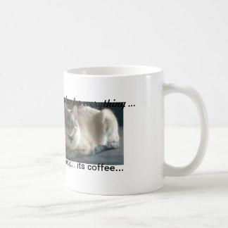 tid och ställe för allt kaffemugg