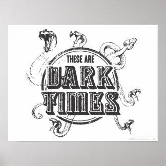 Tider för mörk för Harry Potter pass | Poster