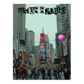 Tider kvadrerar Manhattan New York Vykort