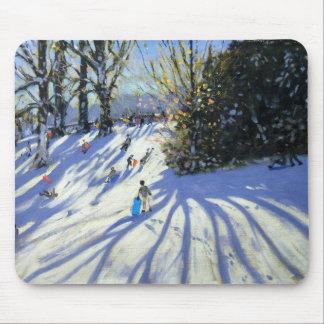 Tidig snö Darley parkerar Musmatta