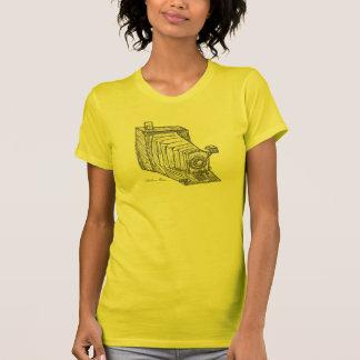 """""""Tidlös"""" märkes- kvinna grafiska utslagsplats T-shirts"""