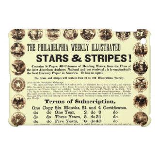 Tidning Philadelphia veckoför 1918 stjärnor & rand iPad Mini Skydd
