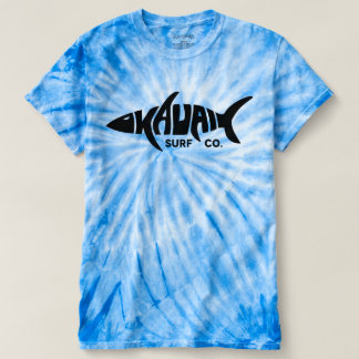 Tie-Färg för Kauai surfaCo. T-tröja T-shirt