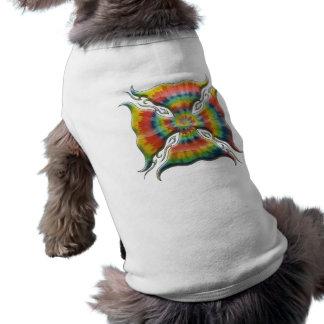 Tie-Färg maltesisk kor Husdjurströja