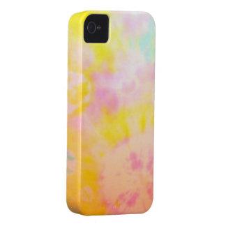 Tie färgad gul Vattenfärg-något liknande iPhone 4 Case-Mate Fodraler