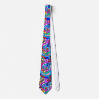 tie för färger för vild70-talkärlek slips