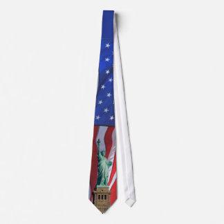 Tie för frihetsgudinnanindependence dayfirande slips