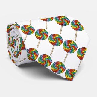 Tie för gay pride för klubbor för slips