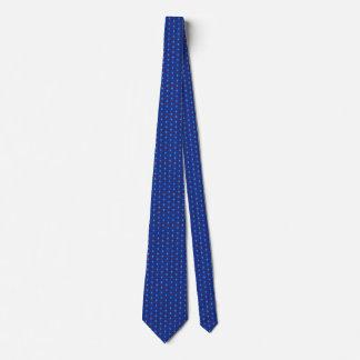 Tie för Guam flaggahonungskaka Slips