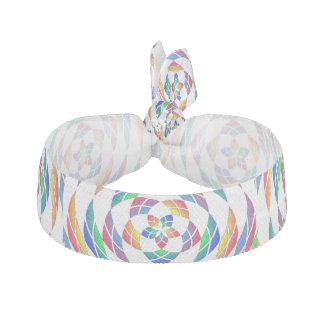 Tie för hår för regnbågeKaleidoscopestjärnor 2 Hårband