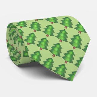 Tie för läger för gröna grästrädträd utomhus- slips