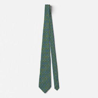 Tie för sverigeflaggahjärtor slips