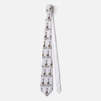 Tie giraff med slipsar