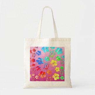 Tiefärg Honu och hibiskus Kassar
