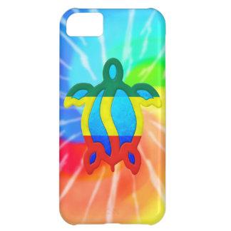 TiefärgRasta Honu sköldpadda iPhone 5C Fodral