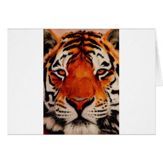Tiger (Amur) Hälsningskort