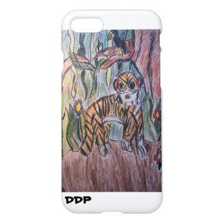Tiger i djungel iPhone 7 skal