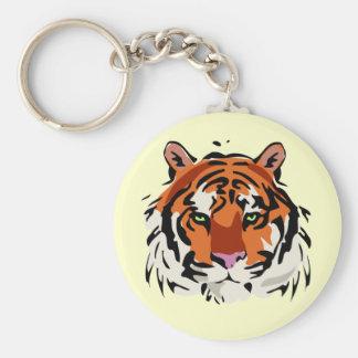 Tiger Keychain Nyckel Ring