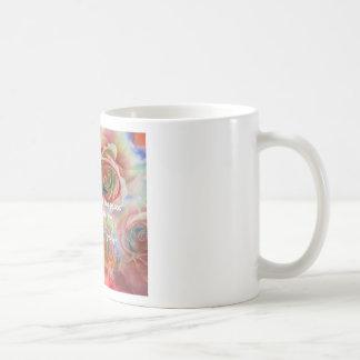 Tiger, ro och bra meddelande kaffemugg