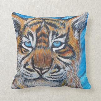 Tigerblått Kudde