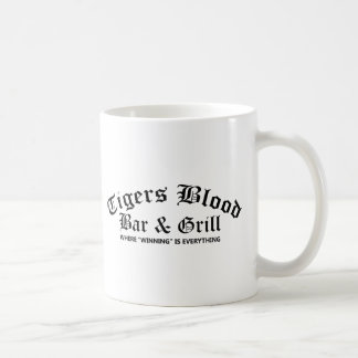 Tigerblodpuben & grillar kaffemugg