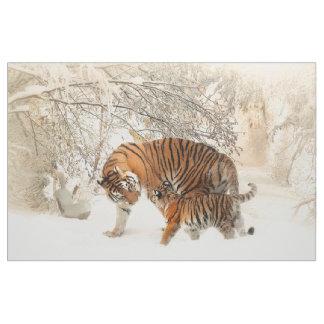 Tigerfamiljbaby