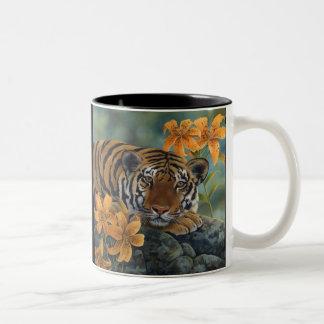 Tigermugg Kaffe Koppar