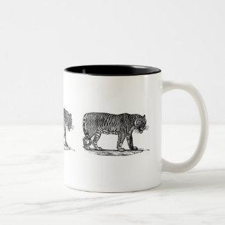Tigern Två-Tonad Mugg