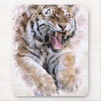 Tigern vrålar musen vadderar musmatta