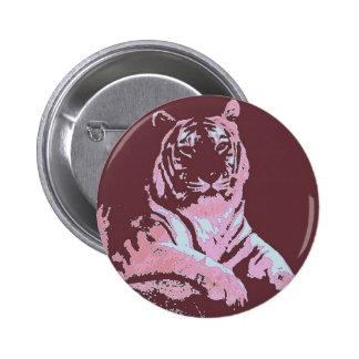 Tigerpopkonst Standard Knapp Rund 5.7 Cm