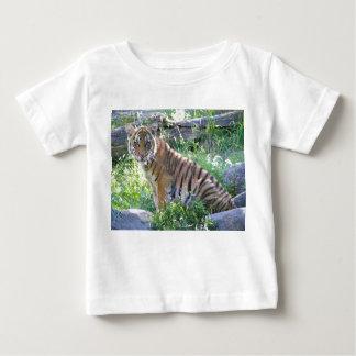 Tigerungeporträtt 2 t shirts