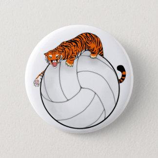 Tigervolleyboll knäppas klämmer fast standard knapp rund 5.7 cm